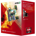 AMD A series A4-5300 3.4GHz 1MB L2 Box processor
