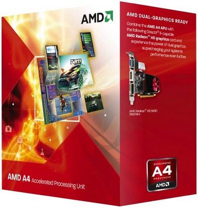 AMD A series A4-5300 3.4GHz 1MB L2 Box processor