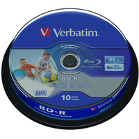Verbatim Datalife 6x BD-R 25GB 10pc(s)