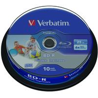 Verbatim BD-R SL DATALIFE 25GB 6X