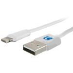 "Comprehensive USB A - Lightning 72"" (1.83 m) White"