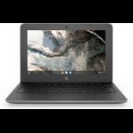 "HP Chromebook 11 G7 EE Gray 29.5 cm (11.6"") 1366 x 768 pixels Touchscreen Intel® Celeron® N 4 GB LPDDR4-SDRAM 32 GB eMMC Wi-Fi 5 (802.11ac) Chrome OS"