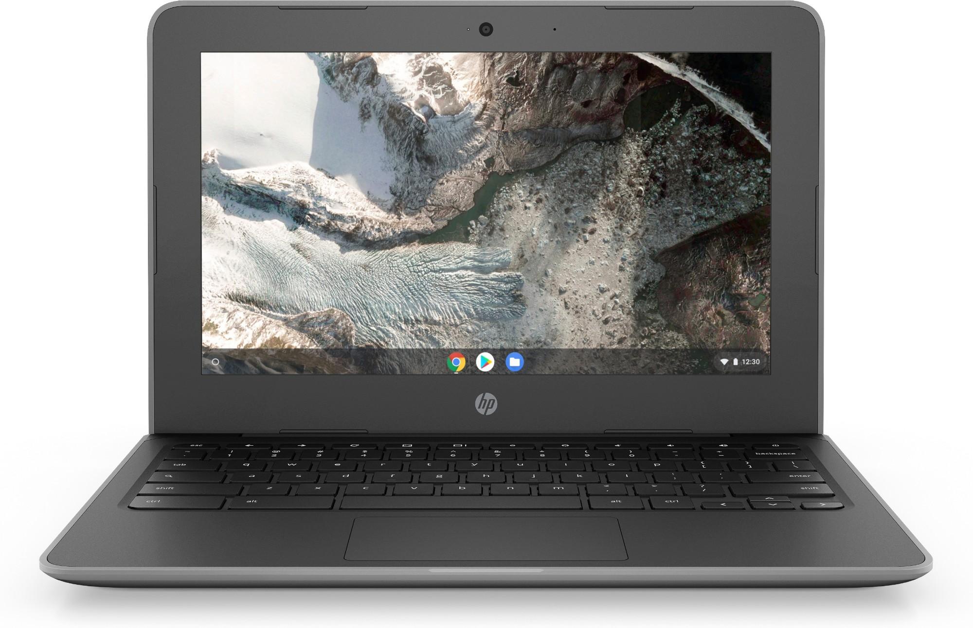"""HP Chromebook 11 G7 EE Grey 29.5 cm (11.6"""") 1366 x 768 pixels Touchscreen Intel® Celeron® N 4 GB LPDDR4-SDRAM 32 GB eMMC Wi-Fi 5 (802.11ac) Chrome OS"""