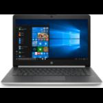 """HP 14-ck0031na Silver Notebook 35.6 cm (14"""") 1920 x 1080 pixels 2.3 GHz 7th gen Intel® Core™ i3 i3-7020U"""