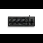 CHERRY XS G84-5200 COMPACT KEYBOARD, Corded, USB/PS2, Black, (QWERTY - UK)