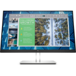 "HP E-Series E24q G4 23.8"" 2560 x 1440 pixels Quad HD Black, Silver"