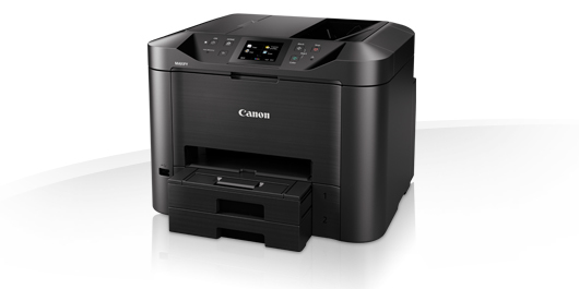 Canon A4 Inkjet Printer, 24.0ipm Mono, 15.5 ipm Colour, 600 x 1200 dpi, 1 Year RTB warranty