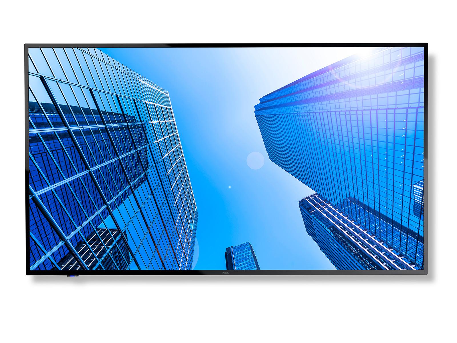 """NEC MultiSync E507Q 125,7 cm (49.5"""") LED 4K Ultra HD Pantalla plana para señalización digital Negro"""