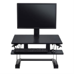 Ergotron WorkFit-TS Compact Desk Converter Multimedia stand Black
