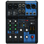 Yamaha MG06X 6channels Black audio mixer