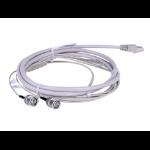"Hewlett Packard Enterprise E1 RJ-45/2 x BNC 3m coaxial cable 118.1"" (3 m) Gray"