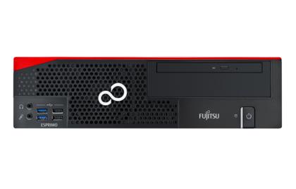Fujitsu ESPRIMO P556/2/E85+ - Micro tower - 1 x Core i3 6100 / 3.7 GHz - RAM 4 GB - HDD 500 GB - DVD SuperMulti - HD Graphics 530 - GigE - Win 10 Pro 64-bit - monitor: none - keyboard: UK PC