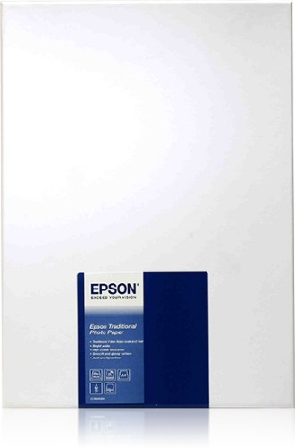 Epson Traditional Photo Paper, DIN A4, 330g/m², 25 Sheets