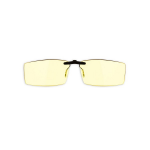 Gunnar Optiks Bit Clip-On Amber Onyx Indoor Digital Eyewear