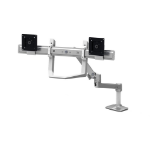 "Ergotron LX Series 98-037-062 10"" White flat panel desk mount"