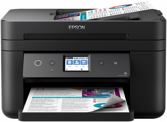 Epson WorkForce WF-2860DWF Inkjet 4800 x 1200 DPI 33 ppm A4 Wi-Fi