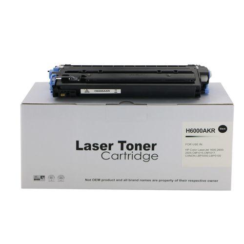 Remanufactured HP Q6000A (124A) / Canon EP707BK Black Toner Cartridge