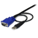 StarTech.com 10 ft Ultra Thin USB VGA 2-in-1 KVM Cable SVECONUS10