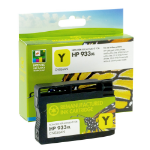 Refilled HP 933XL Yellow Ink Cartridge