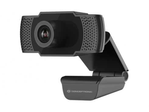 Conceptronic AMDIS 1080P Full HD Webcam with Microphone