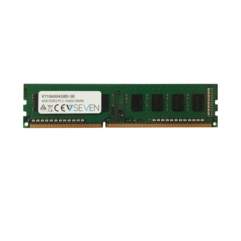 V7 4GB DDR3 PC3-10600 1333MHZ DIMM módulo de memoria - V7106004GBD-SR
