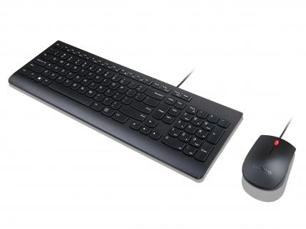 Lenovo 4X30L79897 keyboard USB QWERTZ German Black