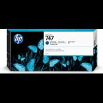 HP P2V85A (747) Ink cartridge blue, 300ml