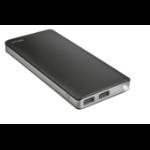 Trust Primo power bank Black, Grey Lithium-Ion (Li-Ion) 10000 mAh