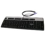HP PS/2 Standard keyboard PS/2 QWERTY English Black,Silver