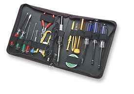 MANHATTAN TECHNICIAN TOOL KIT, COMPUTER TOOL KIT, 17 PIECES