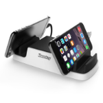 HuntKey SmartU USB Charging Dock with 4 USB 2.4A ports and 2 Micro USB Connectors - Perfect for mobile phone