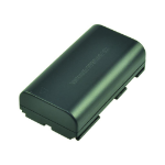 2-Power Camcorder Battery 7.2V 2600mAh