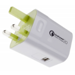 Kit USBMCQCWH mobile device charger Indoor Green,White