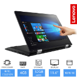 Lenovo Yoga 310 11.6-inch Convertible Laptop/Tablet Intel Celeron N3350, 4GB RAM, 32GB eMMC, Touchscreen, W