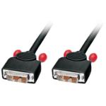 Lindy 36606 2m DVI-D DVI-D Black DVI cable