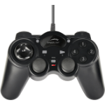 SPEEDLINK THUNDERSTRIKE Gamepad PC Analogue / Digital USB Black