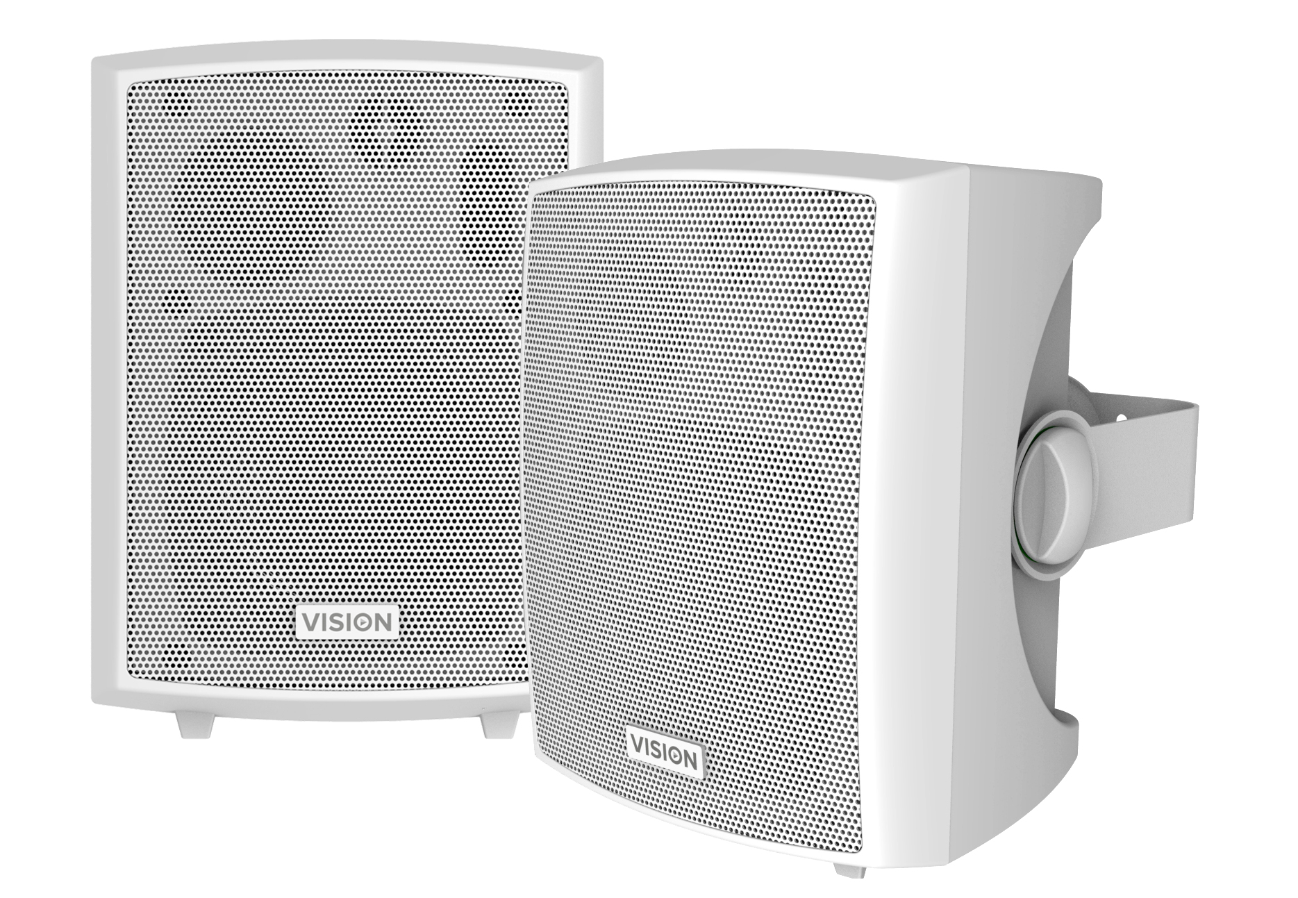 Vision SP-800P loudspeaker 3-way 24 W White Wired
