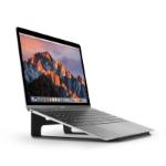 "TwelveSouth ParcSlope Notebook stand for MacBook/MacBook Air/MacBook Pro and iPad Pro Black 32.8 cm (12.9"")"