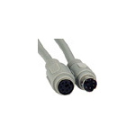Microconnect Extension PS/2 MD6 (5m) KVM cable Grey