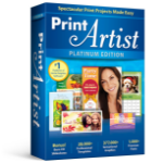 Avanquest Print Artist 25 Platinum 1 Lizenz(en) Elektronischer Software-Download (ESD) Englisch