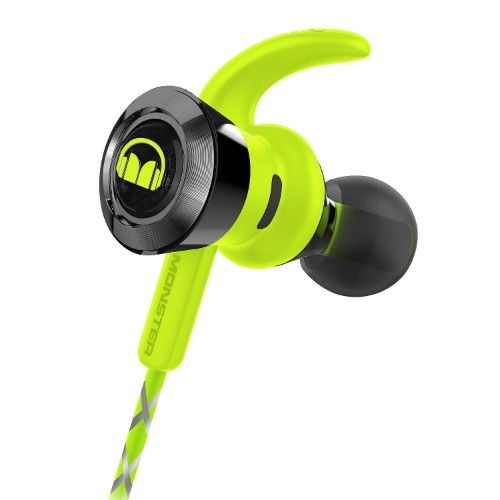 Monster Cable iSport Victory Green Intraaural In-ear headphone