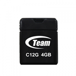 Team Group C12G 4GB USB 2.0 Type-A Black USB flash drive