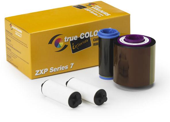 Zebra Color Ribbon YMCKOK cinta para impresora 750 páginas