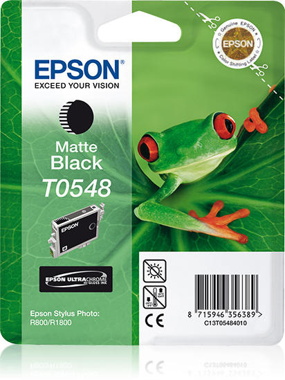 Epson inktpatroon Matte Black T0548 Ultra Chrome Hi-Gloss
