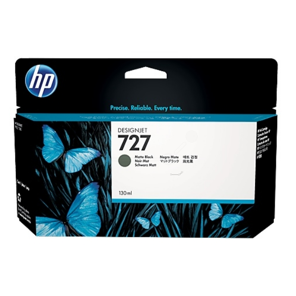 HP B3P22A (727) Ink cartridge black matt, 130ml