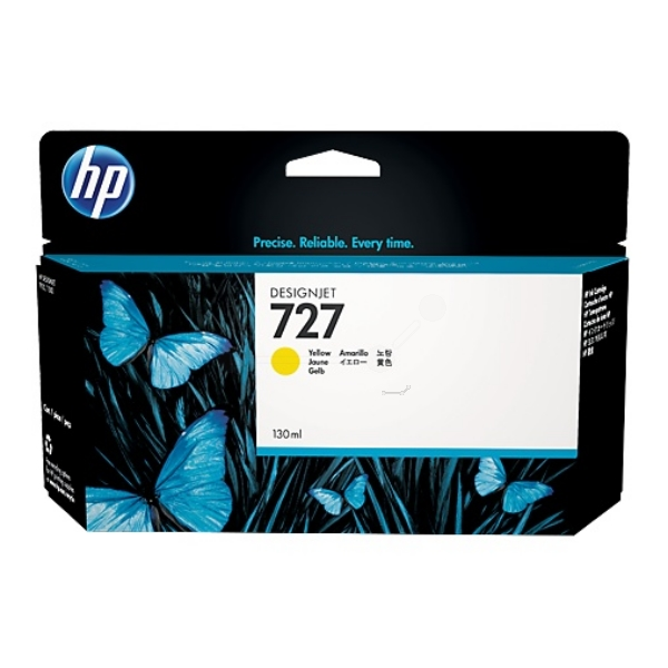 HP B3P21A (727) Ink cartridge yellow, 130ml