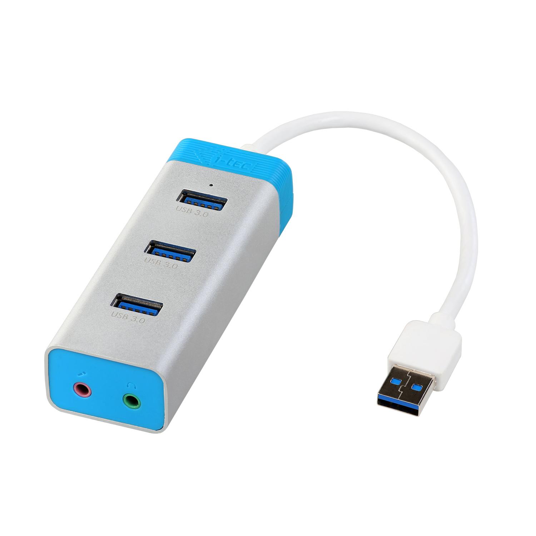 i-tec USB 3.0 Metal HUB 3 Port
