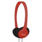 Koss KPH7 Circumaural Head-band Red