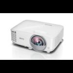 Benq MW826ST videoproyector 3400 lúmenes ANSI DLP WXGA (1280x800) 3D Proyector para escritorio Blanco