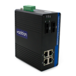 AddOn Networks ADD-IGMC-SX-2FC4 network media converter 1000 Mbit/s 850 nm Multi-mode Black